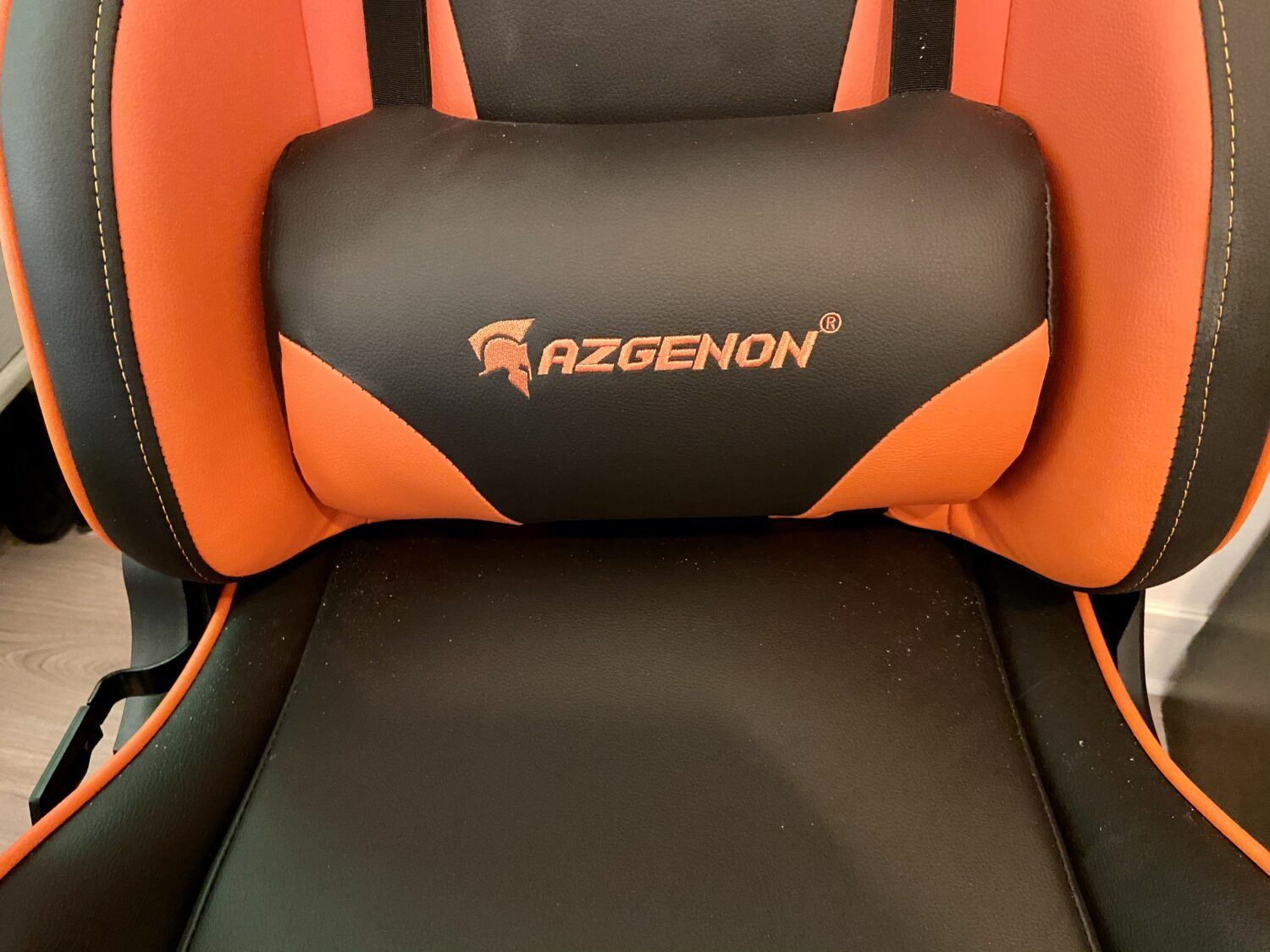 AZGENON Z300 test chaise gaming coussin