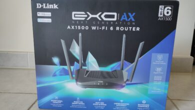 Photo de TEST – Routeur D-Link AX1500 : Performances et WIFI-6