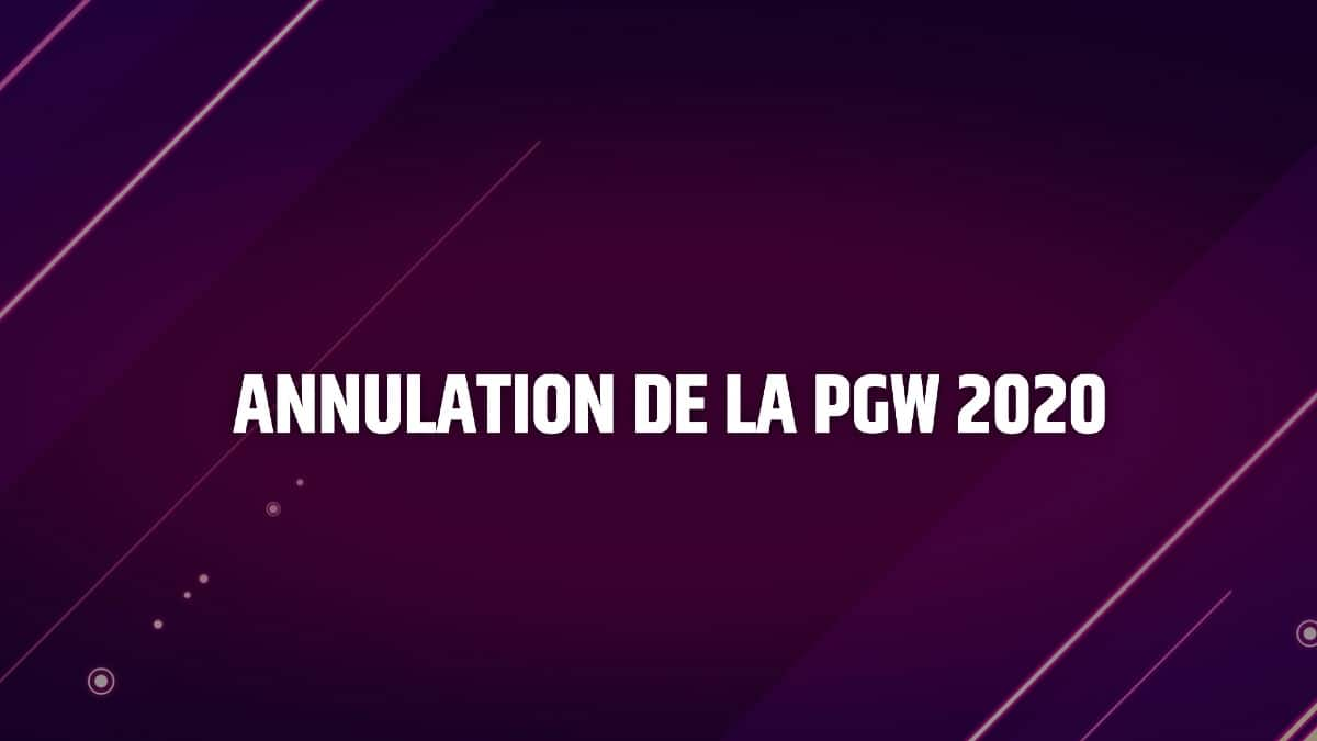 Paris Games Week 2020