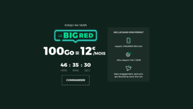 Photo of RED relance son forfait mobile 100 Go à 12€ par mois