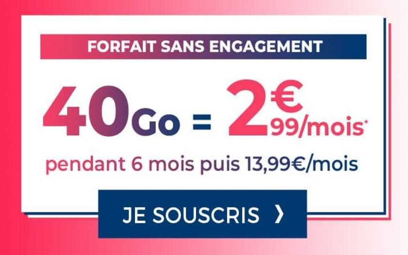 forfait-mobile-40-go-cdiscount-french-days