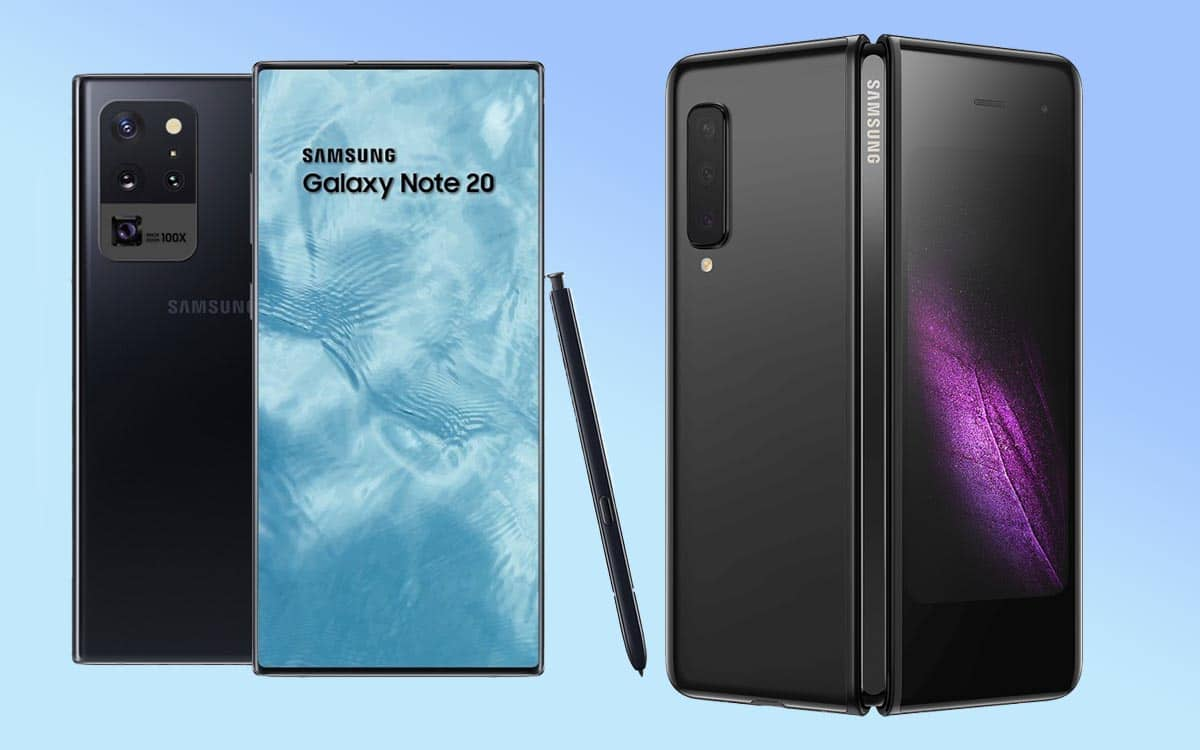 Samsung Galaxy Note 20+ Fold 2