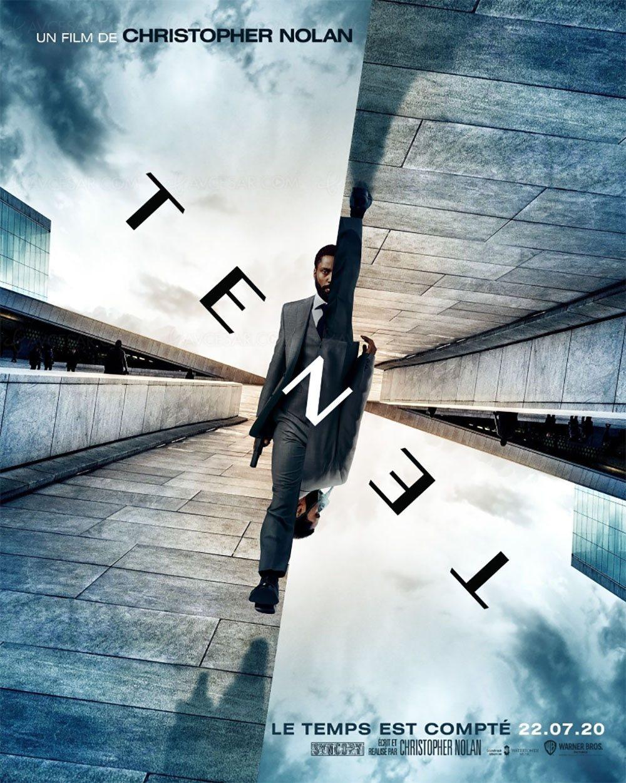 L'affiche du film Tenet de Christopher Nolan