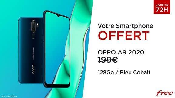 oppo-a9-offert-forfait-mobile-100-Go-free