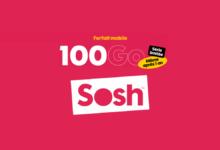 Photo of Sosh lance un forfait mobile 100 Go pour 16,99€ par mois