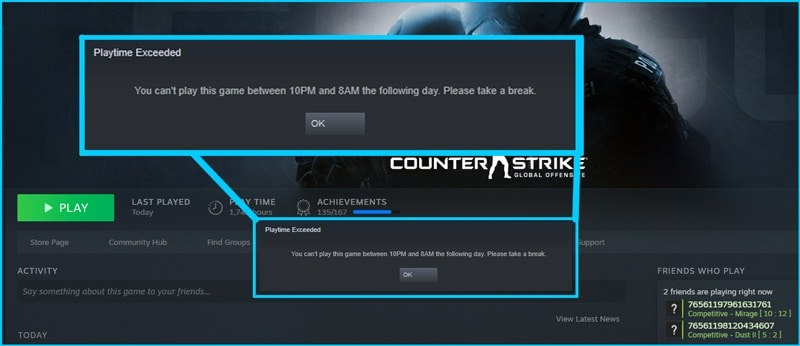 Steam alpha
