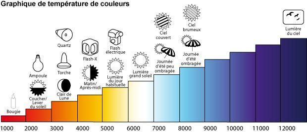 Vocabulaire de l'image - Graphique de températures