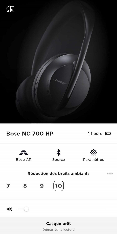 Application Bose Music