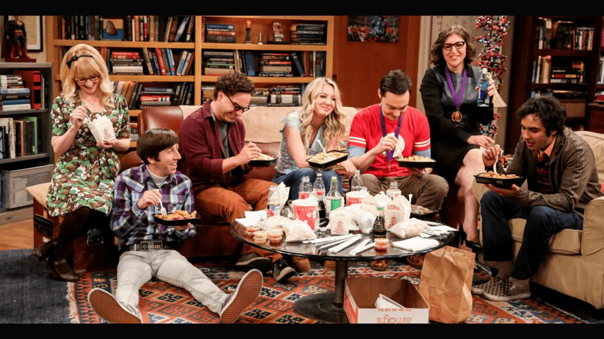 the big bang theory meilleures series comiques netflix