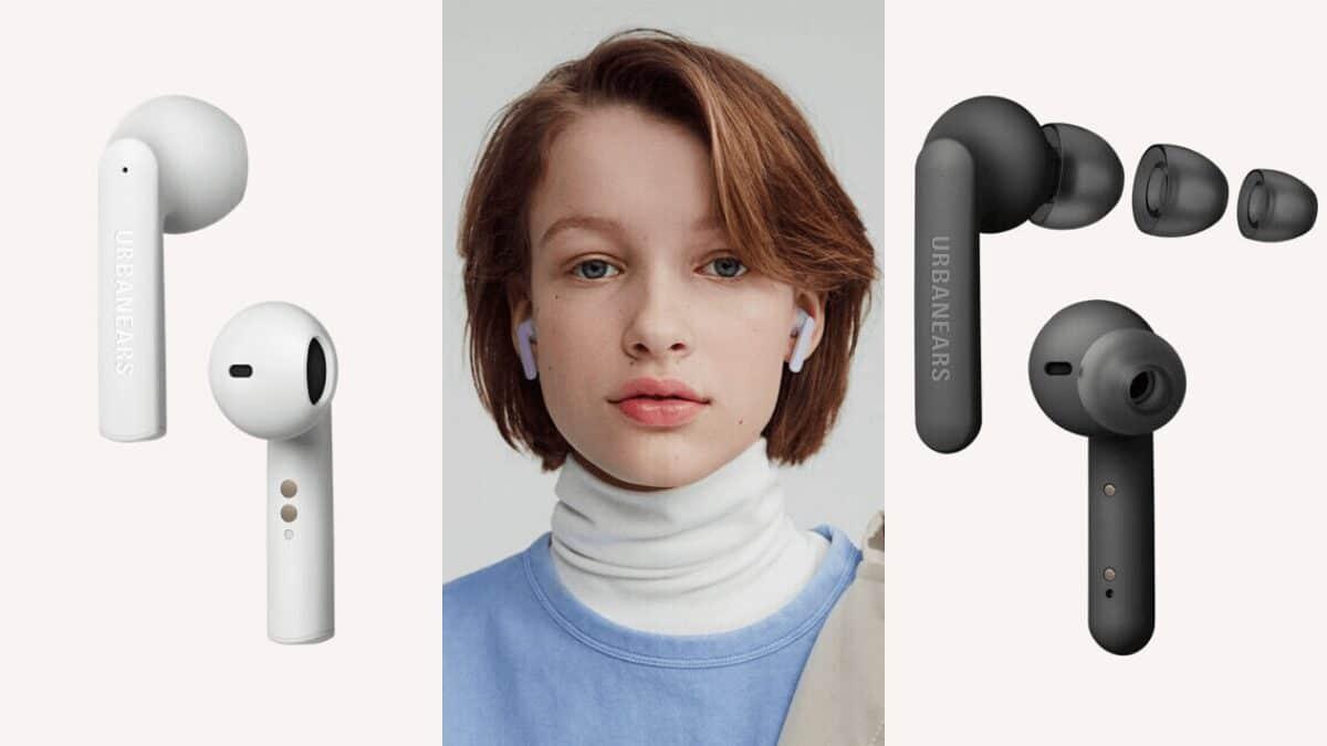 Urbanears présente deux paires d'écouteurs true wireless à