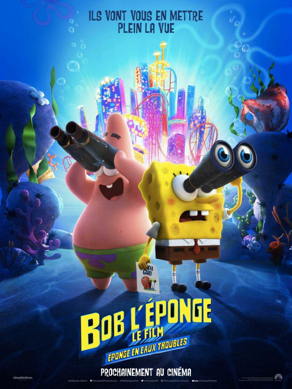 Affiche du film Bob l'éponge : éponge en eaux troubles