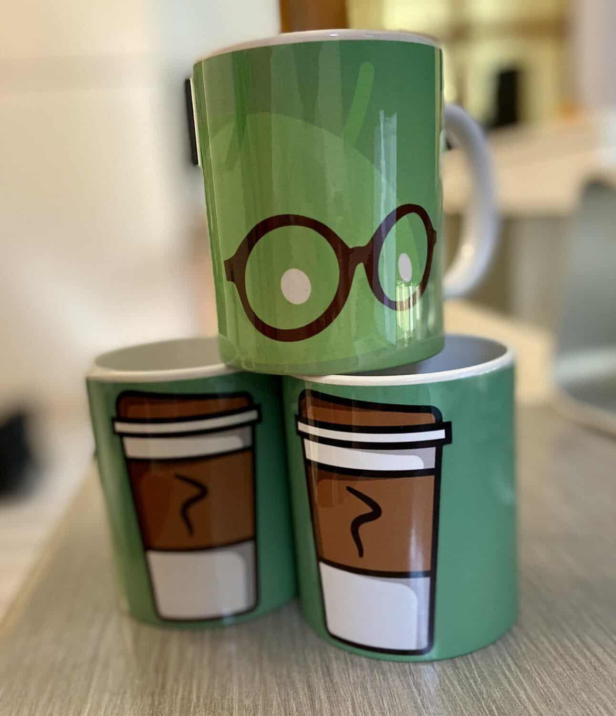 mugs imprimés LCDG Droidsoft