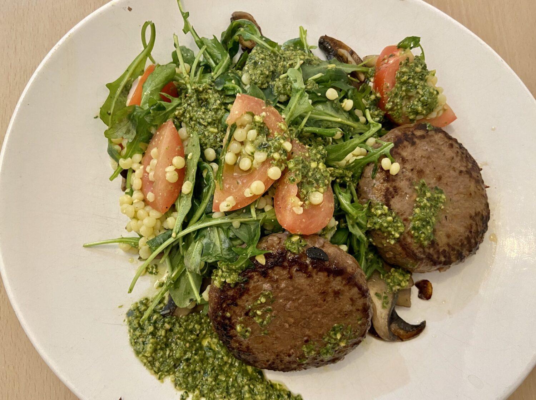 Hellofresh salade couscous perle