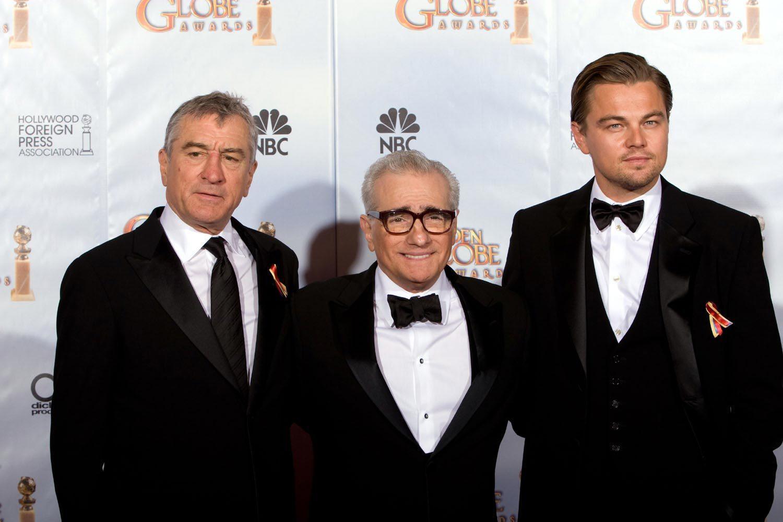 Robert de Niro, Martin Scorsese et Leonard Di Caprio