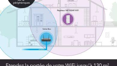 Photo de Test – Répéteur Wifi mesh Netgear EX6250