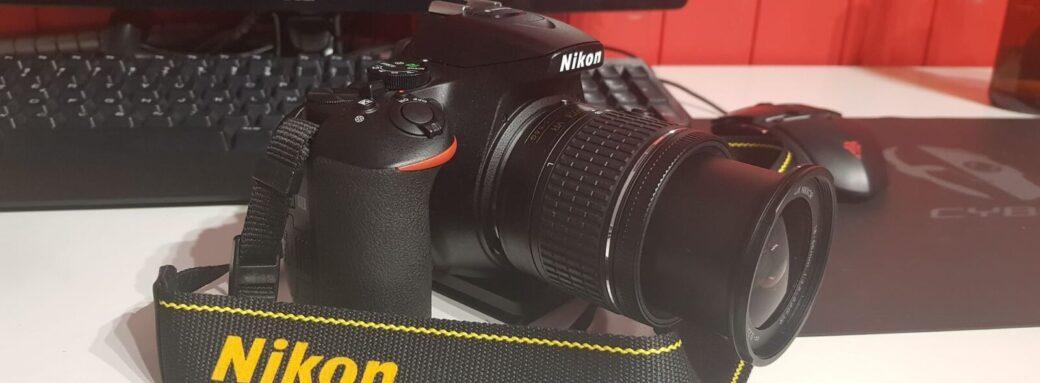 Nikon D5600 - Mise en avant