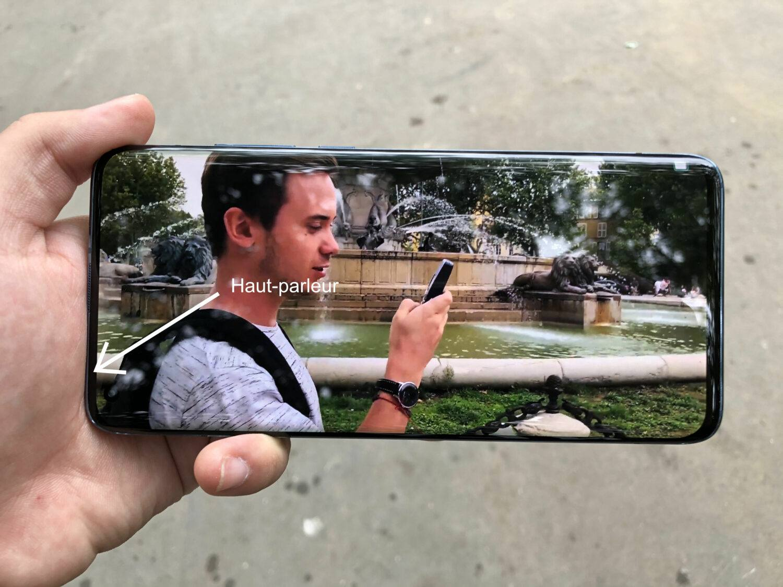 Prise en main mode paysage Xiaomi Mi 10