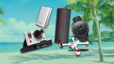 Sélection accessoires High-tech été et vacances 2020