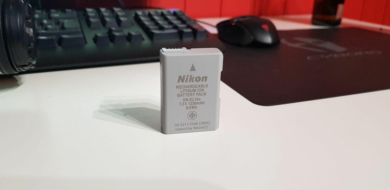 Nikon D5600 - Batterie