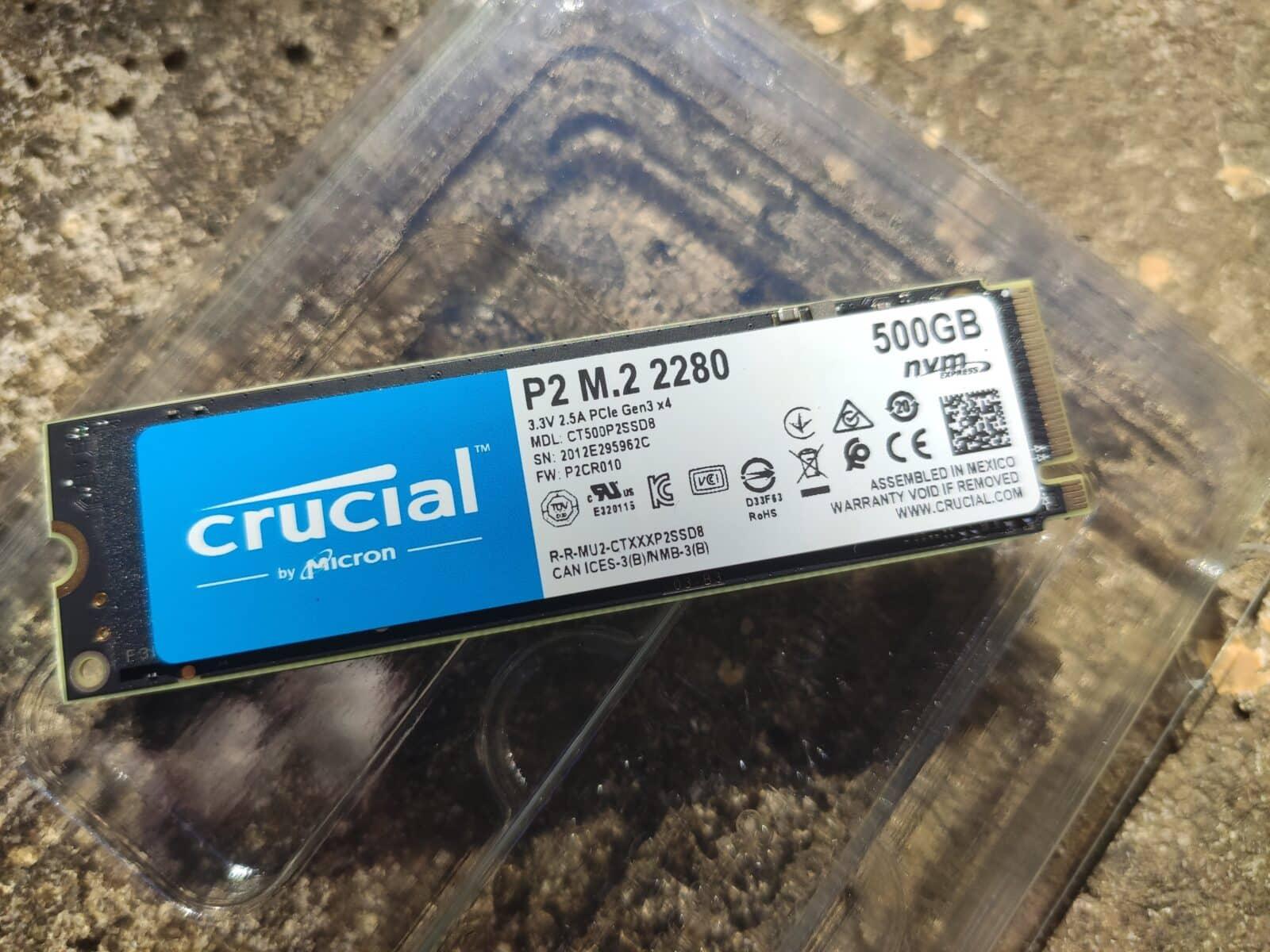 Crucial P2 (500go)
