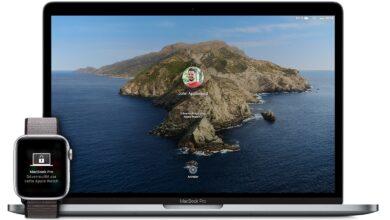 Photo de Sécurisez votre ordinateur Mac avec votre Apple Watch