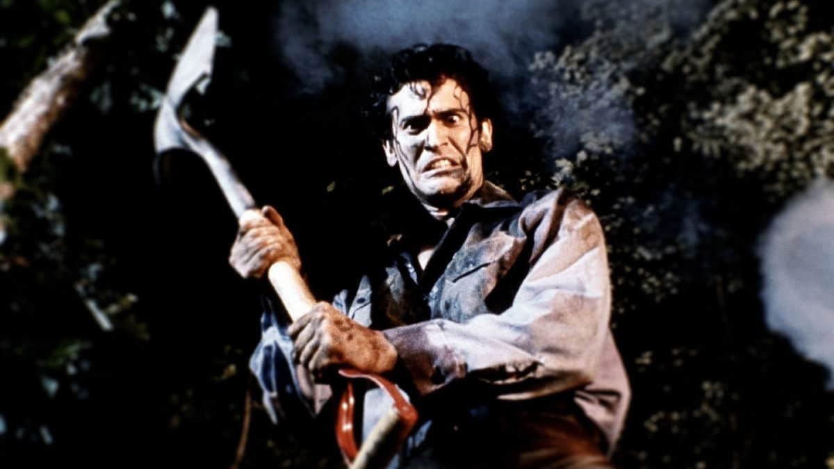 Bruce Campbell dans Evil Dead