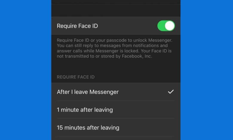 face-id-facebook-messenger