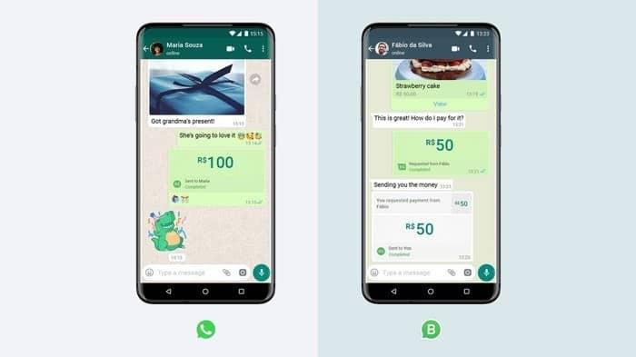 payer avec whatsapp