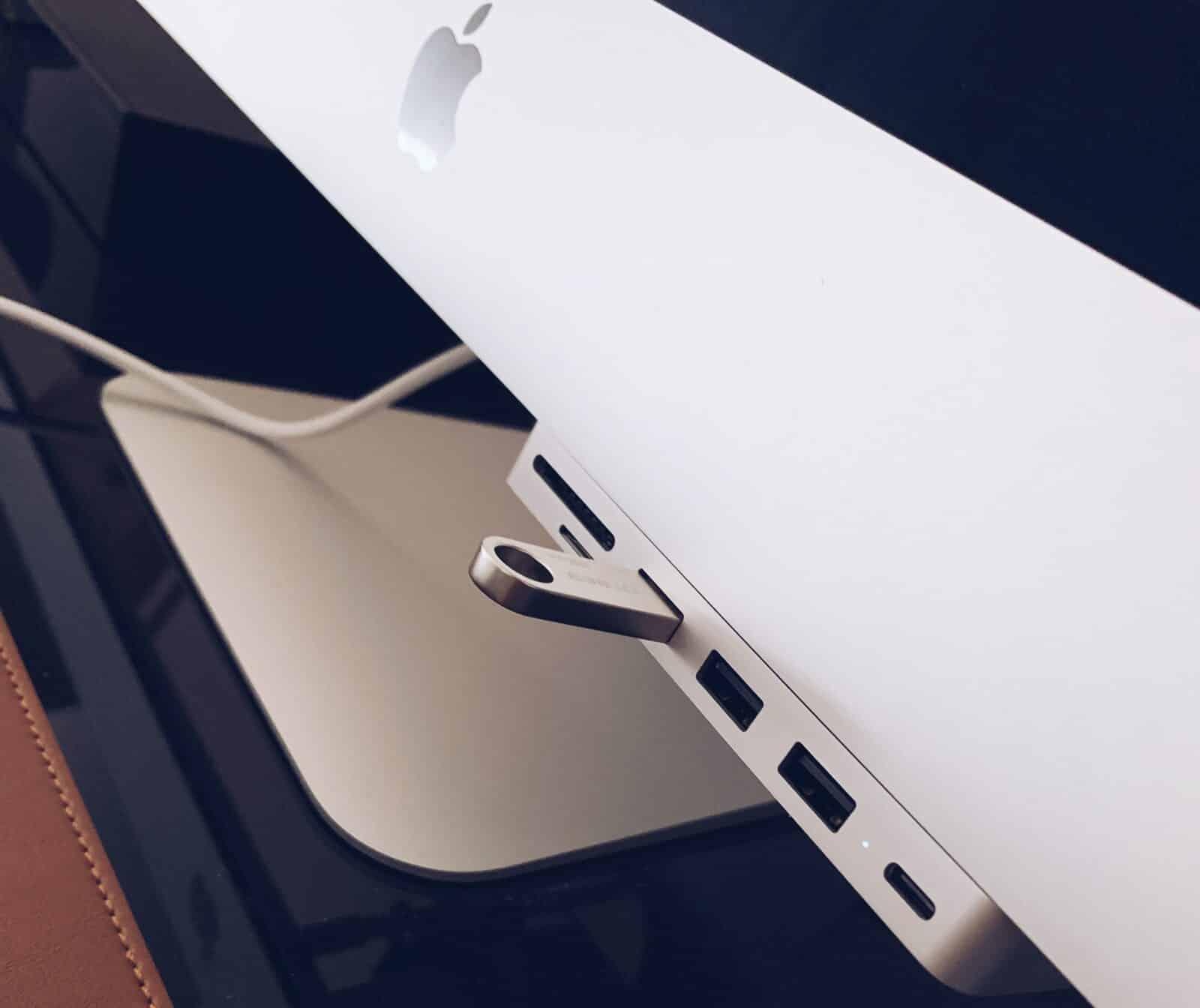 HUB USB en façade