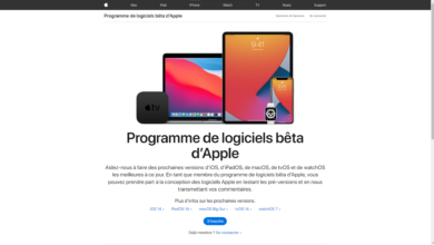 Apple Beta Publique iOS 14 iPadOS 14 et tvOS 14