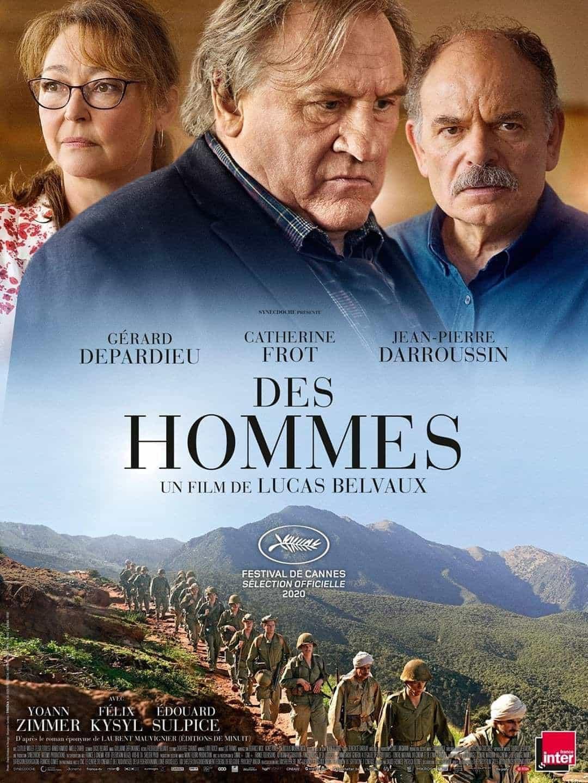 Affiche du film Les hommes de Lucas Belvaux