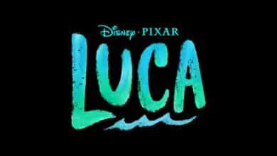 Logo du film Luca, prochain film Disney-Pixar