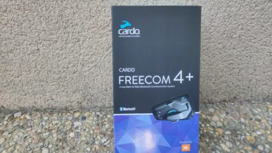 Photo de Test – Intercom Cardo Freecom 4+ : Gardez vos mains sur le guidon !