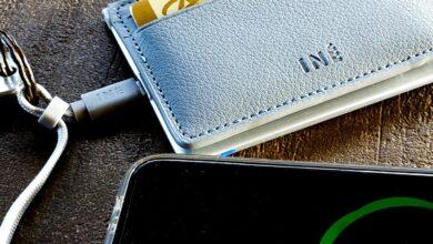 Photo de Test – The Wallet by Iné, le porte-cartes qui charge votre smartphone