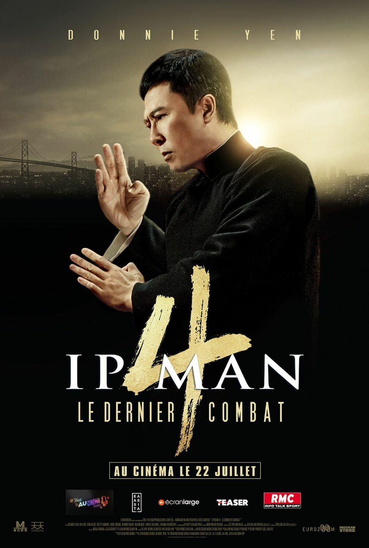 Affiche de Ip Man 4 : Le Dernier Combat