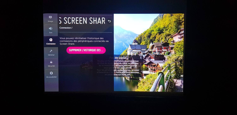 LG - Screen share