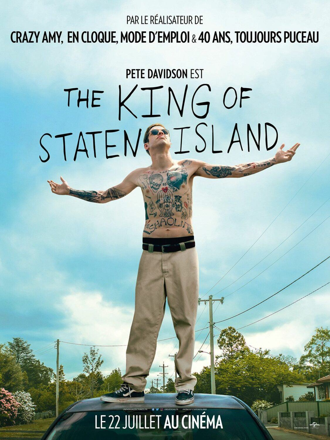 Affiche de The King of Staten Island