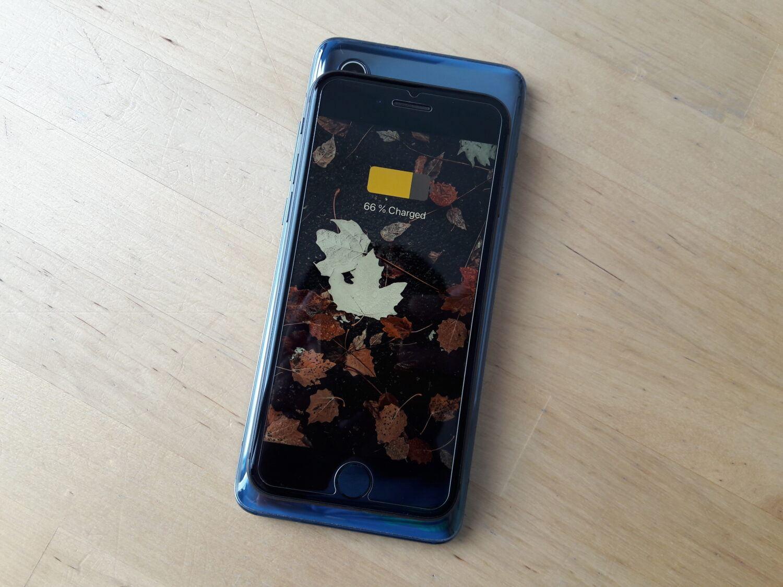Xiaomi Mi 10 charge inversée iPhone