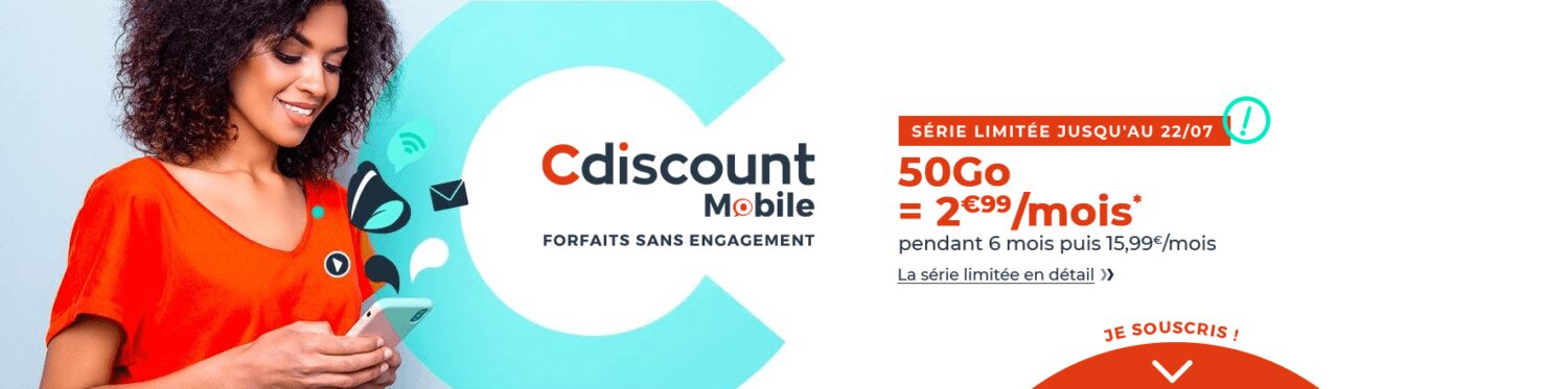 forfait-mobile-50-Go-CDiscount-Mobile-juillet-soldes