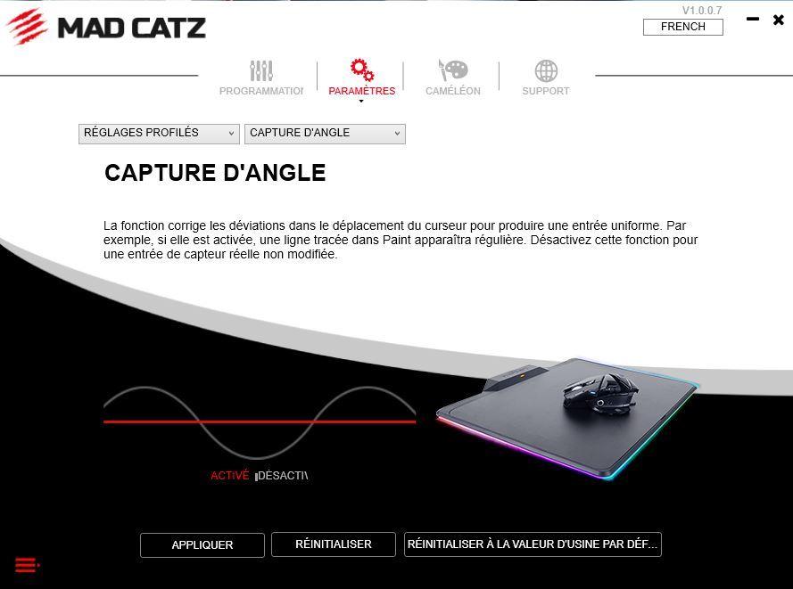 Logiciel Mad Catz RAT AIR