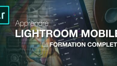 tuto Adobe Lightroom Mobile