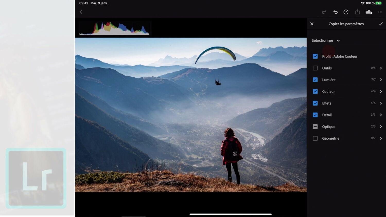 tuto Adobe Lightroom Mobile