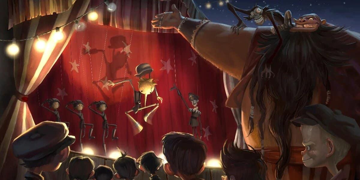 Pinocchio de Guillermo del Toro (2021)