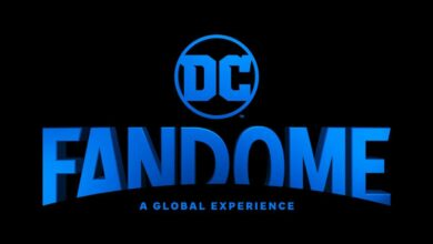 Logo de la convention DC Fandome