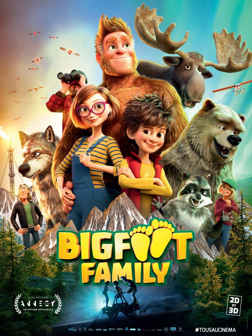 Affiche de Bigfoot Family