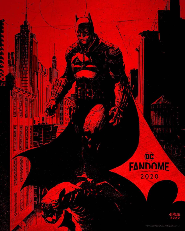 Concept art du Batman de Matt Reeves