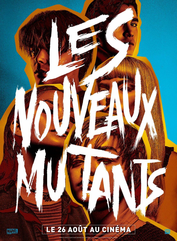 Affiche du film Les Nouveaux Mutants