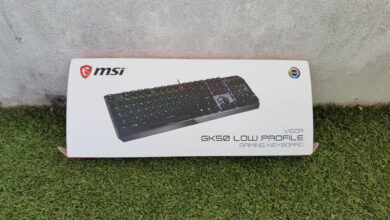 Photo de Test – MSI Vigor GK50 Low Profile : Un clavier mécanique très agréable