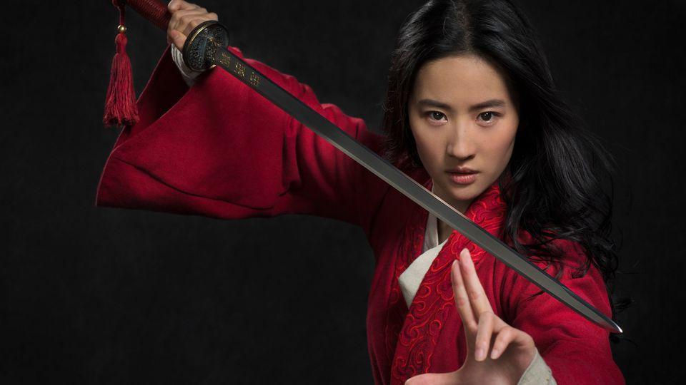 Liu Yifei dans le Mulan de Niki Caro
