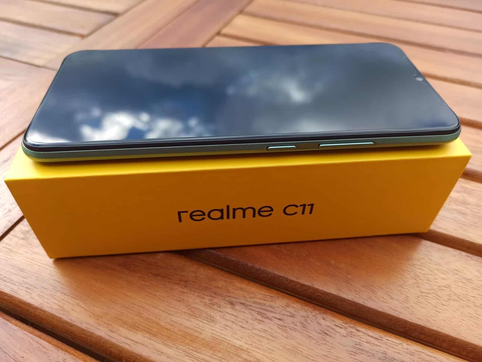 Realme-C11 de coté